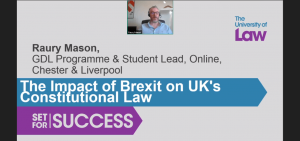 The Impact of Brexit on UK's Constitutional Law in the context of Public Law and EU Law modules